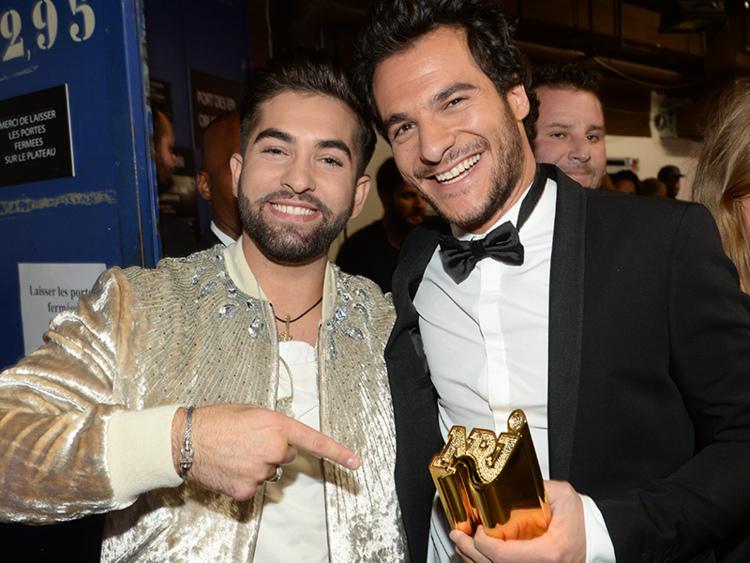 Backstage des NRJ Music Awards 2016