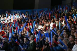 Public du match France - Japon samedi 14 janvier à La Beaujoire