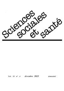 Sciences sociales et santé 2015/4