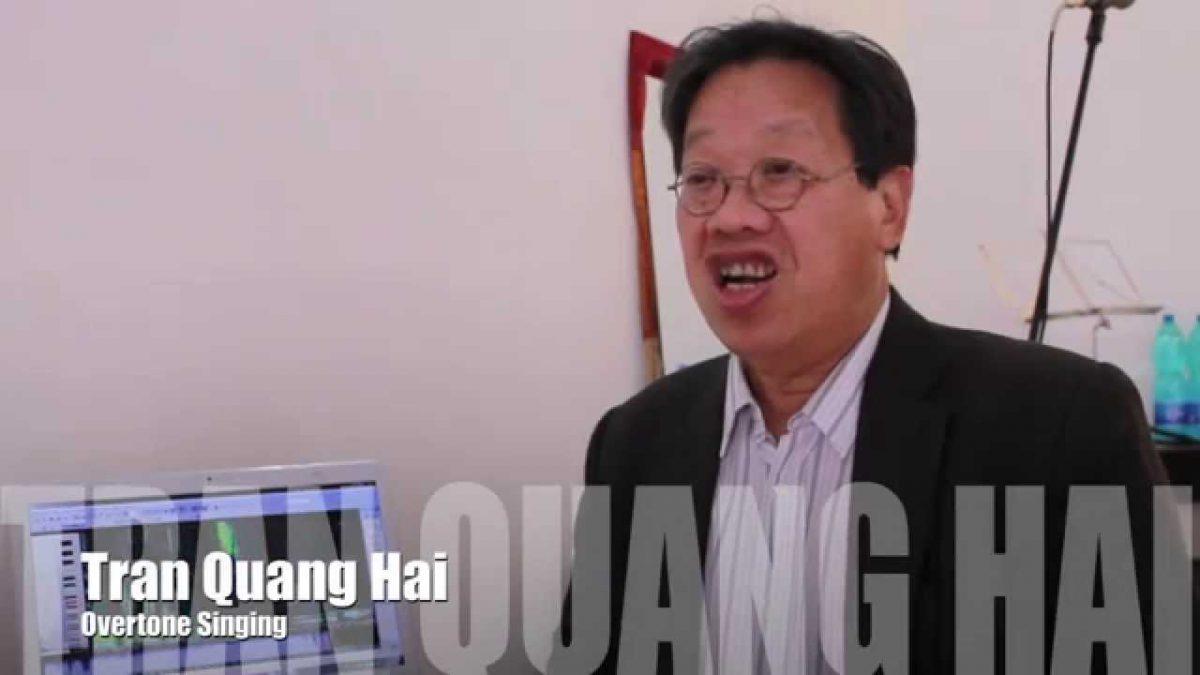 TRAN QUANG HAI's world throat singing
