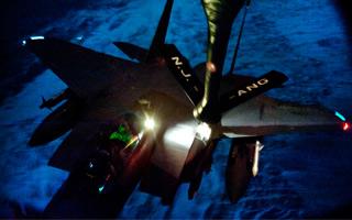 Mise à jour : un F-15E  de l