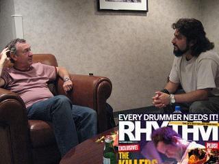 Nick Mason and Mike Portnoy