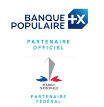 Banque Populaire, Marine National - Partenaires de la FFVoile