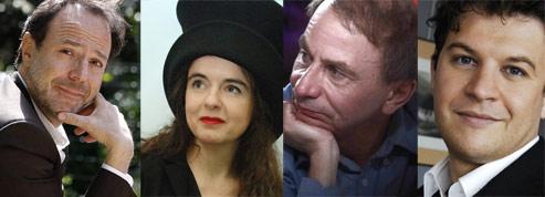 Les dix romanciers français <br/>qui ont le plus vendu en 2010<br/>