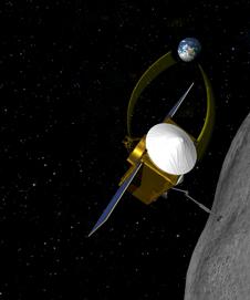 conceptual image of OSIRIS-REx