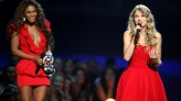 Taylor Swift speaks after Beyonce