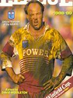 Wally Lewis - cover of the 1989-90 NSWRL Yearbook