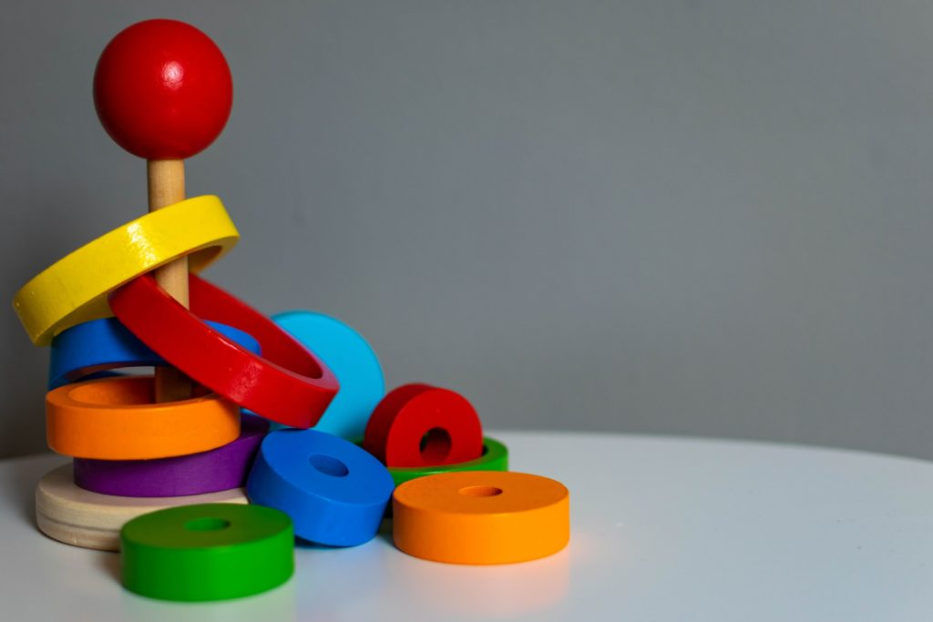 Colorful toy.
