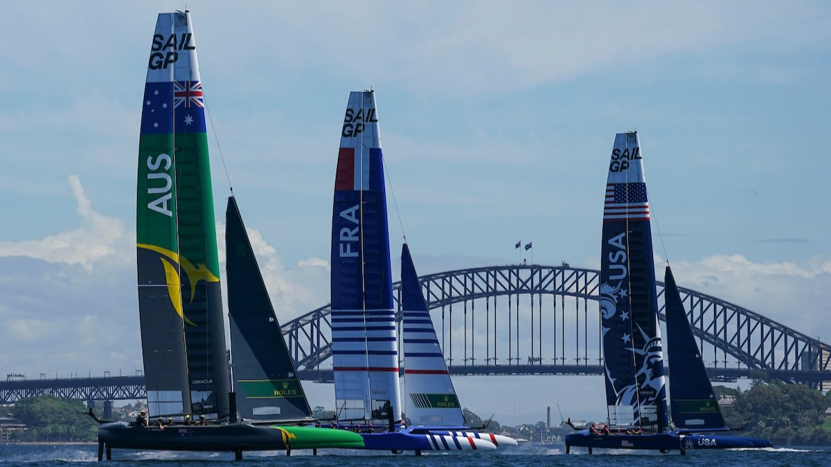 WATCH: Celebrate Australia Sail Grand Prix announcement with thrilling Sydney event highlights