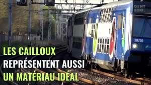 TGV : pourquoi il y a-t-il des cailloux sur la voie ferrée et à quoi servent-ils ?