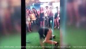 Etats-Unis : un agent du FBI tire sur un spectateur dans un night-club en faisant un salto arrière