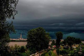 Des orages sont attendus dansl'ouest du pays.