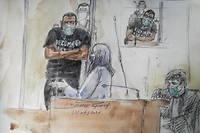 Cette peine prononcée contre Abdalla El Hamahmi est assortie d'une période de sûreté des deux tiers.