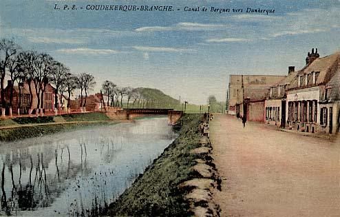 Le canal de Bergues.