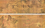 Goddess of the River Luo, Chinese ancient painting