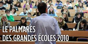 Palmares des écoles 2010