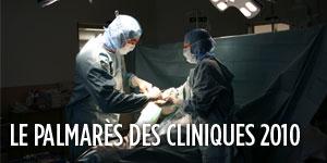 Palmares des cliniques 2010