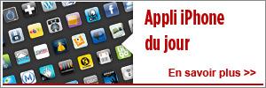 Application iPhone Du Jour
