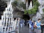EN IMAGES. Les pèlerins se rendent à Lourdes pour l'Assomption