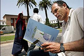[Abdelhak Senna/AFP/Getty Images] La langue amazighe doit être enseignée à tous les élèves marocains, affirment les militants de cette langue.