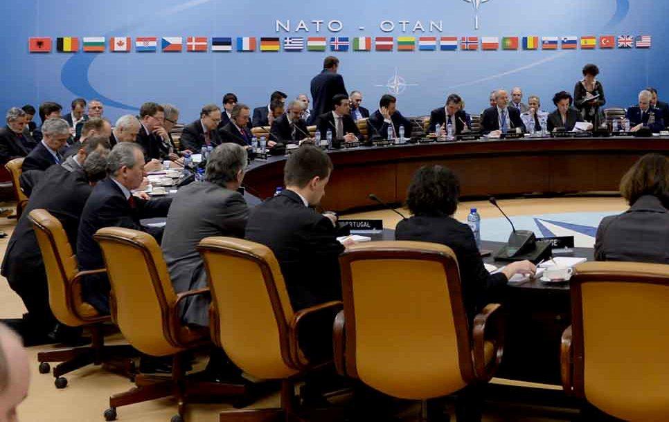 Minister Xhaferi is part of the delegation of the Republic of Macedonia in a working visit to NATOMinistri Xhaferi si pjesë e delegacionit të Republikës së Maqedonisë në vizitë pune në NATOМинистерот Џафери како дел од делегацијата од Република Македонија во работна посета на НАТО