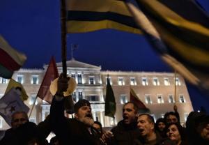 EN IMAGES. Les Grecs clament leur «dignité» retrouvée