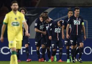 EN IMAGES. Coupe de France : la maîtrise parisienne étouffe Nantes (2-0)