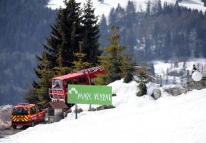 EN IMAGES. Haute-Savoie : le restaurant de Marc Veyrat en feu