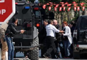 EN IMAGES. Tunis : les forces anti-terroristes  en action