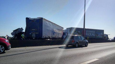 L'A16 coupée dans le sens Calais-Dunkerque