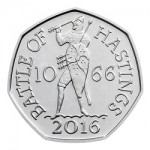 The 950th Anniversary of The Battle of Hastings 2016 United Kingdom 50p Brilliant Uncirculated Coin uku02856 reverse