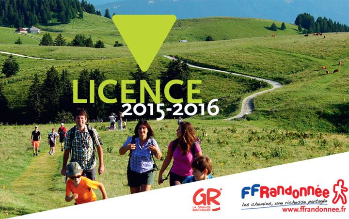 Licence FFRandonnée