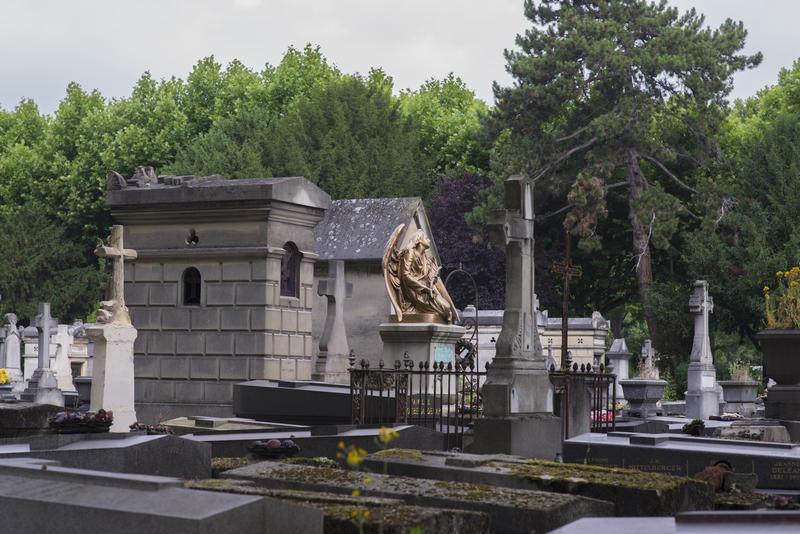 Cimetière Parisien d'Ivry © Christophe Noël