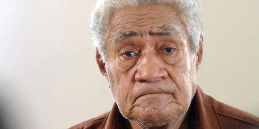 Le dernier roi de Wallis, Kapiele Faupala, destitué en 2014 ©AFP