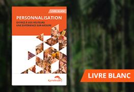 livre blanc personnalisation 2016 kameleoon