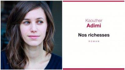 Le Prix Renaudot des Lycéens est attribué à Kaouther Adimi pour Nos richesses (Seuil)