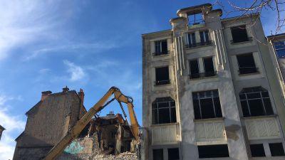 Travaux : à Aurillac, le centre-ville fait peau neuve