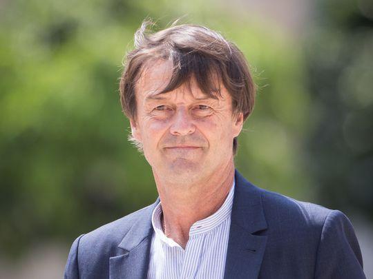 Nicolas Hulot le 22 juin 2017  à Paris