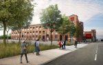 L'accès au bâtiment sera réaménagé, dans le quartier Fonderie.