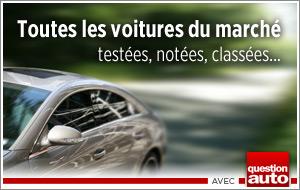 Toutes les voitures du marché - testée, notée, classée
