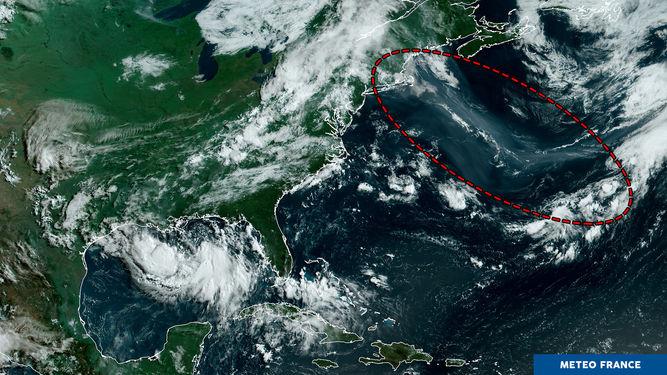 Image satellite du jour