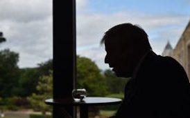 Prime Minister Boris Johnson in Belfast