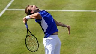 Evans, the British No 1, looked sharp in his straight-sets victory over Popyrin
