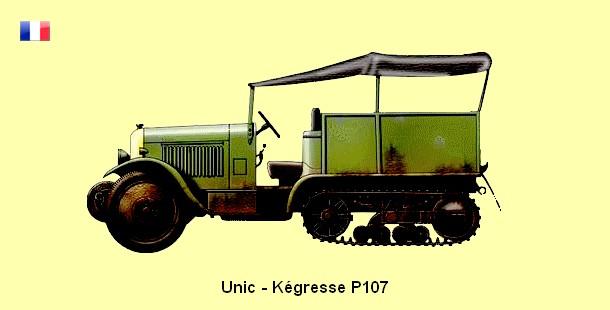 Kegresse Unic P107