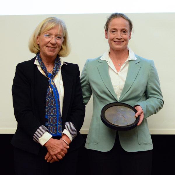 Isabell Werth et Marie-Christine Ubald-Bocquet