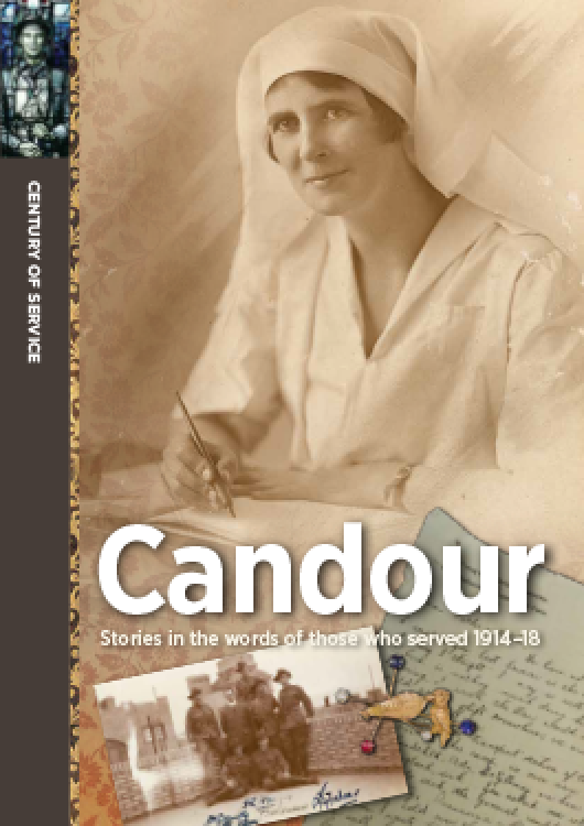 Candour: Stories in the words of those who served 1914-18
