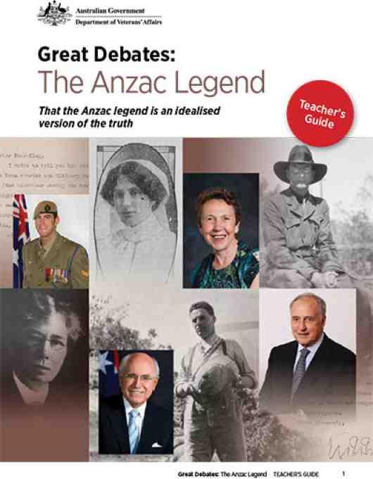 Great Debates: The Anzac Legend