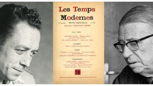 """Sartre/Camus """"La bataille de L'homme révolté"""""""
