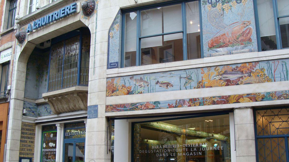 Lille : grande braderie à L'Huîtrière, ancien restaurant gastronomique