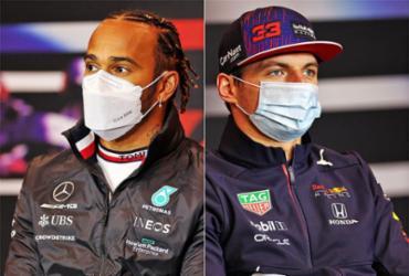 Hamilton e Verstappen fazem 'segundo round' no GP da Emilia-Romagna | AFP